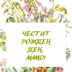 Картичка честит рожден ден мамо