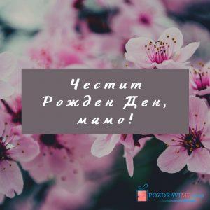 Картичка за мама с пожелание